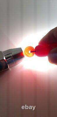 30.9 Grams Antique Cherry Amber Bakelite Beads Damrari/Veins