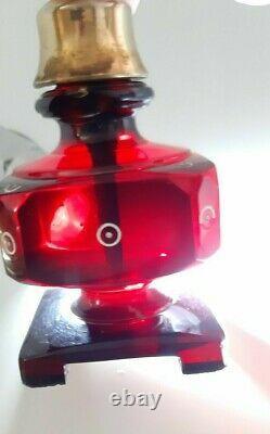 97.4 Grams Antique Faturan Cherry Amber Bakelite Perfume Bottle