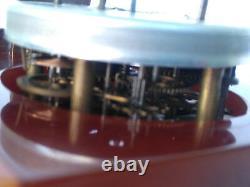 ART DECO Phenolic BAKELITE BAYARD French Clock Cherry Amber Eggyolk SIMICHROME