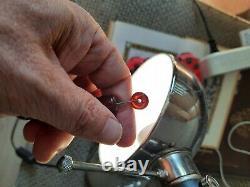 Antique Cherry Amber Bakelite Beads 88 gr. 33 cm