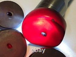 Antique Chinese cherry Bakelite 43.1 gram lot of 6 beads (m1619)