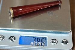 Antique Genuine Red Cherry Amber Cigarette Cigar Pipe Holder Bernstein &Case Box