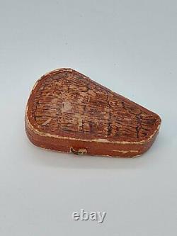Antique Turkish Ottoman Cigarette Holder Cherry Amber Faturan Mouthpiece Pipe