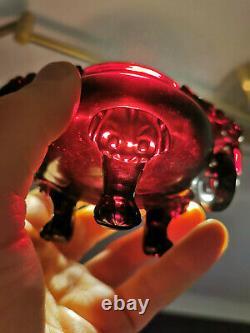 China 1. H. 20. Jh Ein Dark Cherry Amber, Bakelite, Faturan Censer