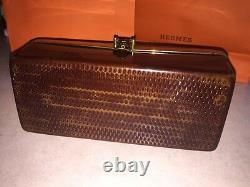 Collectors Piece! Vintage Cherry Bakelite Dorset Rex 5th Avenue Purse Lucite
