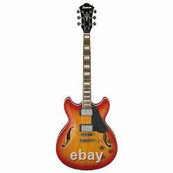 Ibanez Artcore AVS73VAL Vintage 6 String Electric Guitar in Vintage Amber Burst