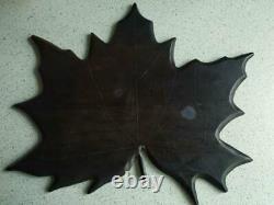 Rare old cherry amber & black desk bakelite catalin vintage 587 gr art deco