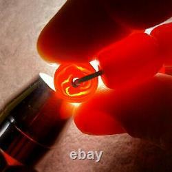 48 Grams Antique Cherry Ambre Faturan Bakelite Perles Collier Marbré