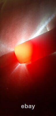 49.5 Grammes Antique Faturan Cherry Amber Bakelite Cigarette Holder Pipe