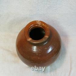 Antique 8ème / 9ème Siècle Chines Tang Dynasty Pot De Stockage De Pot D'ambre-glazed