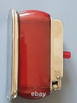 Antique Art Deco Cherry Amber Bakelite Lighter