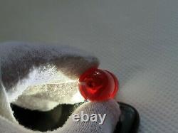 Antique Ottoman Red Cherry Amber Bakelite Faturan Comme Imam Spiral Damari 9,8 Gr