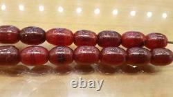 Cherry Amber Faturan Bakelite Antique Rouge Kehribar Prière Misbaha Tesbih Perles