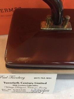 Pièce Collectors! Vintage Cherry Bakelite Dorset Rex 5th Avenue Purse Lucite